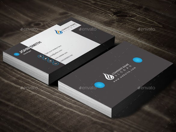 Cool Business Card Design Vector Eps