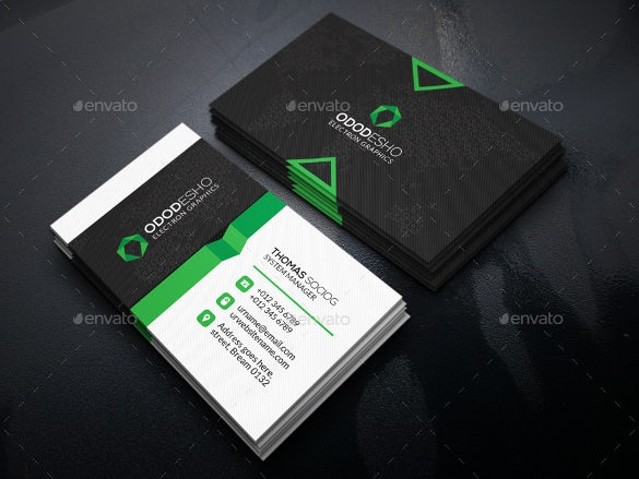 Cool business cards 23 free psd ai vector eps format download green cool business card psd download accmission