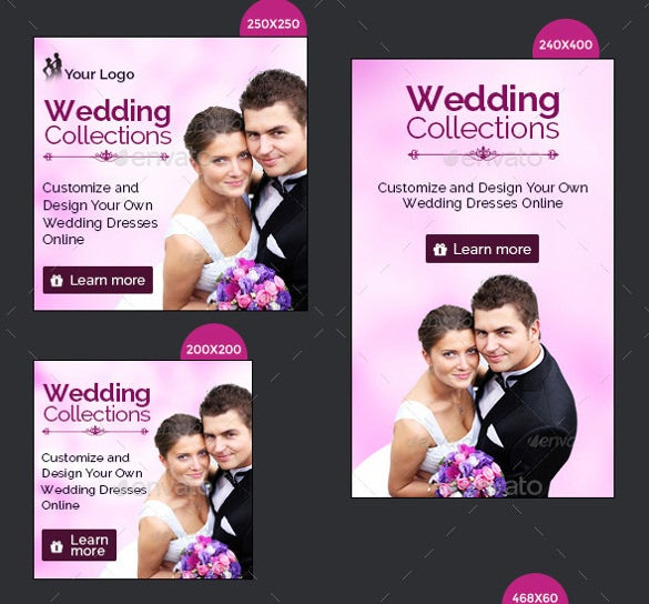 wedding banner design for download