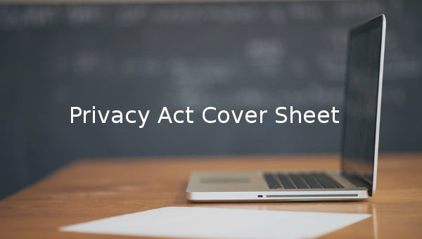 privacy act cover sheet1