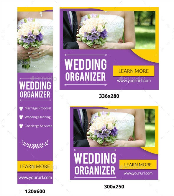 wedding banner template for download