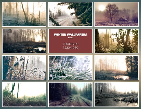 dark winter wallpapers download