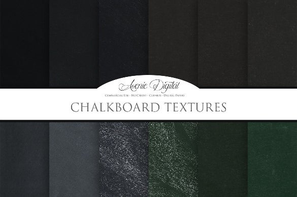 specially designed chalkboard background