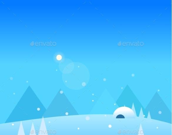 winter mountain wallpaper download