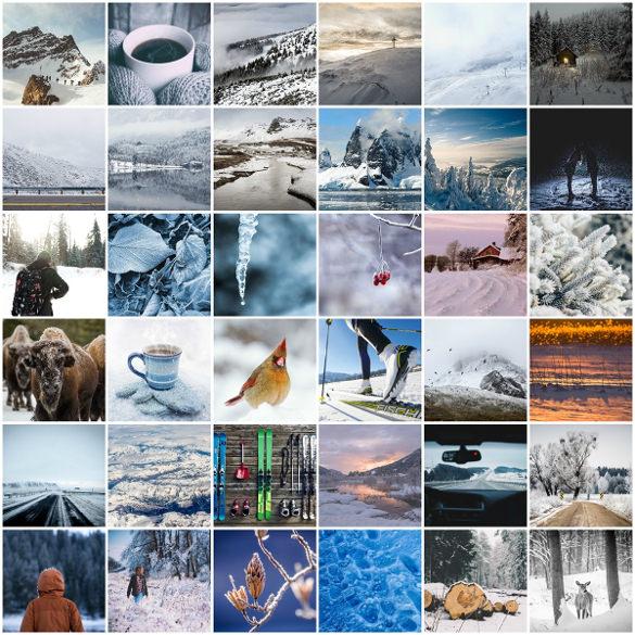 bunch of winter wonderland wallpapers download