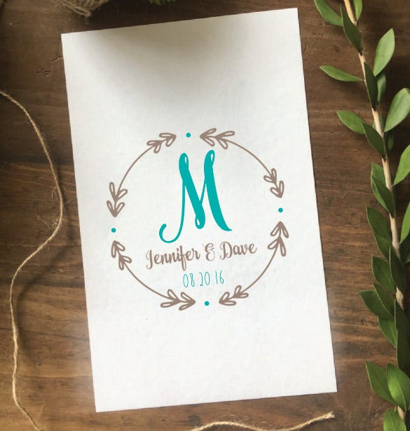 elegant wedding logo design for download