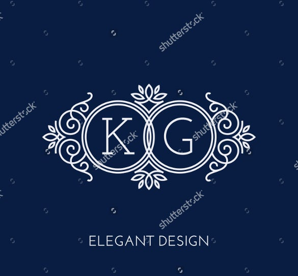 wedding logo template  u2013 28  free sample  example  format download