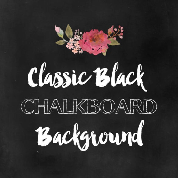 pure balck chalkboard background for download