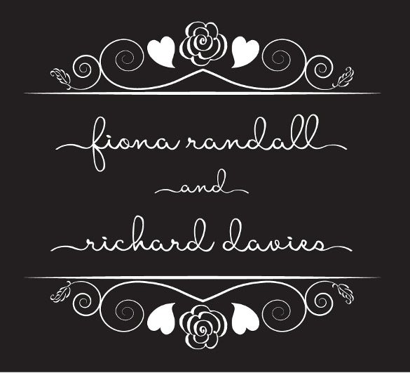 easy to download wedding logo font