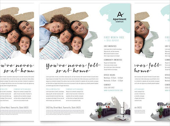 17+ Free Download Real Estate Flyer Template In Microsoft Word