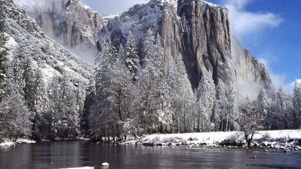 winter mountain wallpapers download