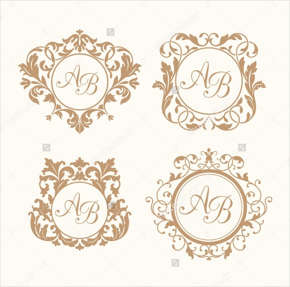 multiple wedding logos designs for download