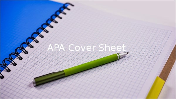 apa cover sheet1