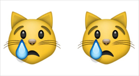 crying cat face emoji free download