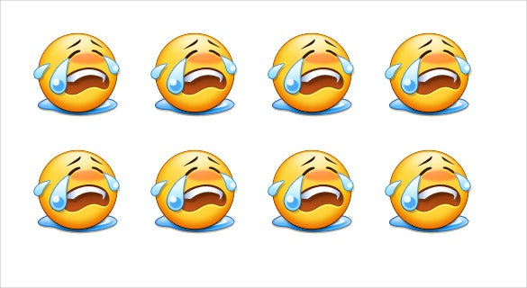free loudly crying face on samsung galaxy s7