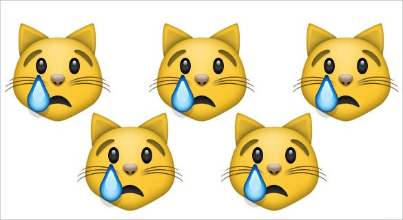 emoji download crying cat face on apple ios