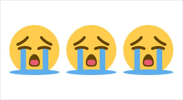 loudly crying face on twitter emoji download