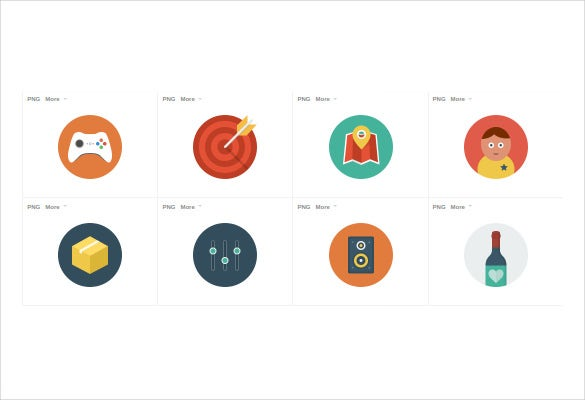colourful ball icons download