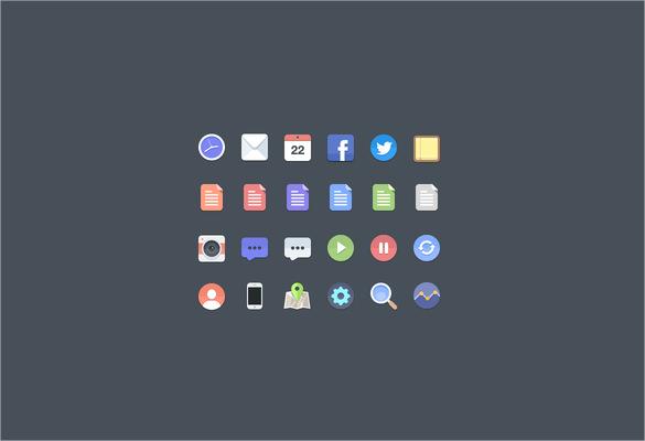flat icons bundle download