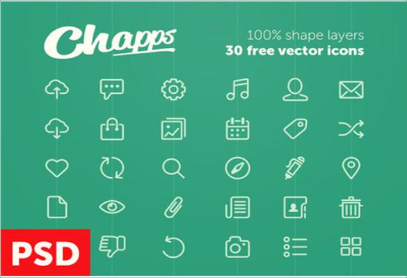 beautiful vector icons bundle