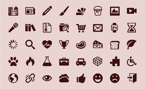 genral icons bundle download