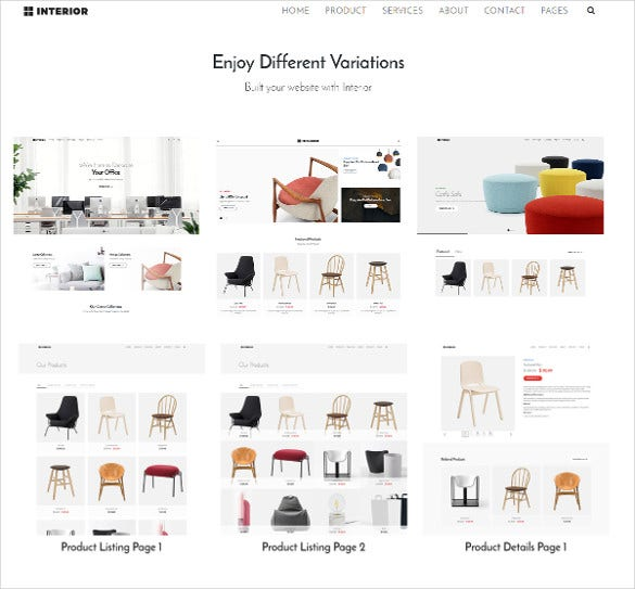 interior multipurpose furniture bootstrap template 10