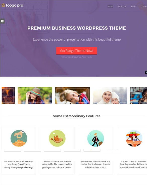21 free business website themes templates free premium templates premium business website template accmission Images