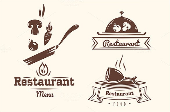 food wine restaurant logos download