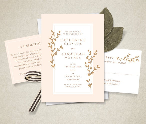 ms word format printable invitation template