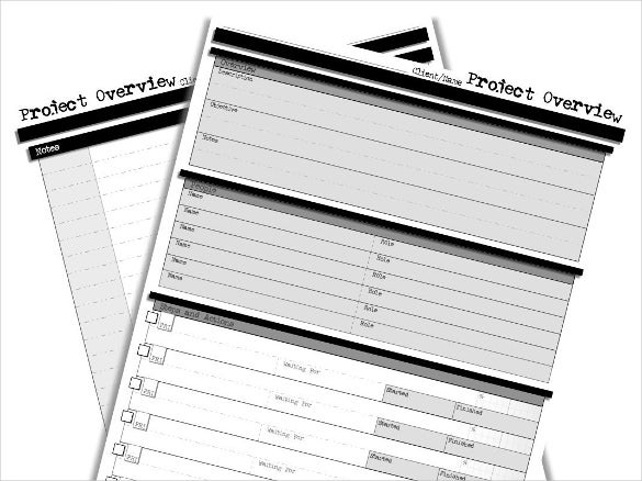 project tracker template download