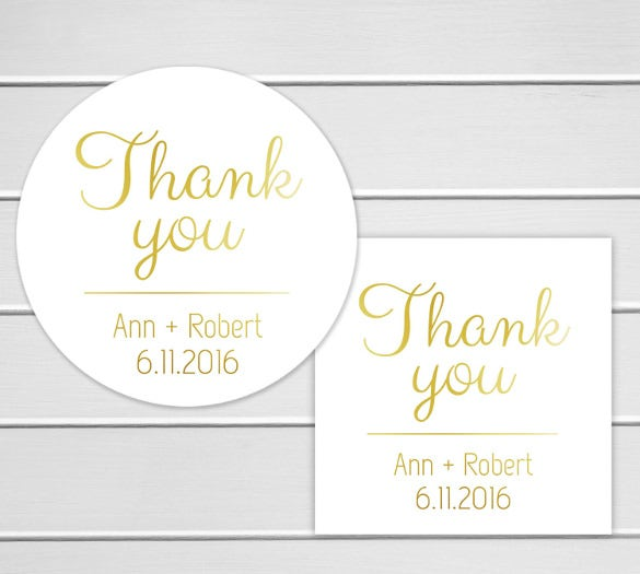 easy to download wedding label sticker