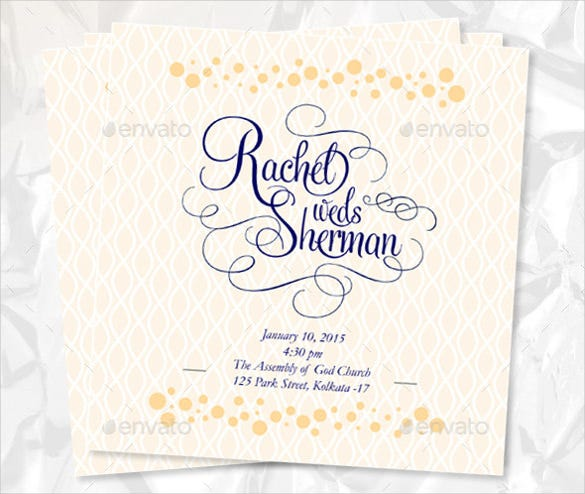 Wedding Order Of Service Templates  Free Sample Example