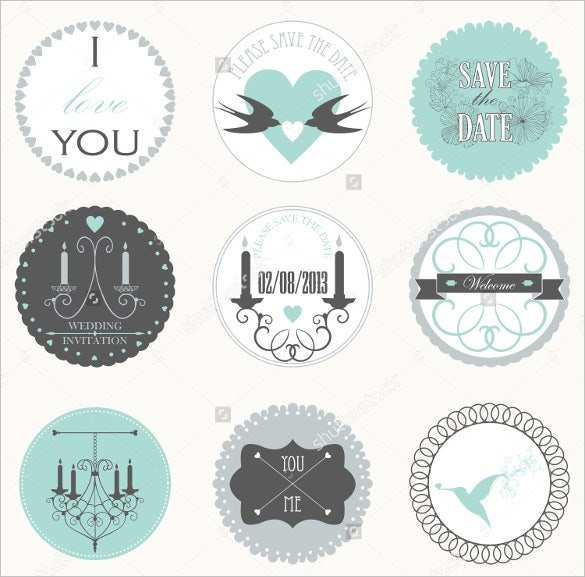 21 wedding sticker templates jpg vector eps free premium templates. Black Bedroom Furniture Sets. Home Design Ideas