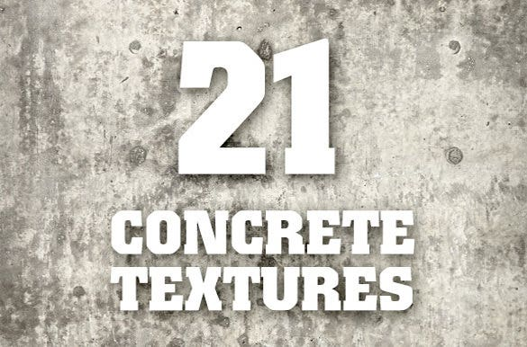 specially designed concrete texture
