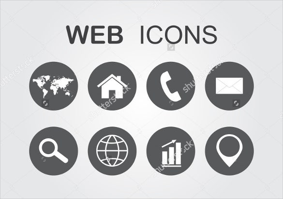 simple web icons bundle