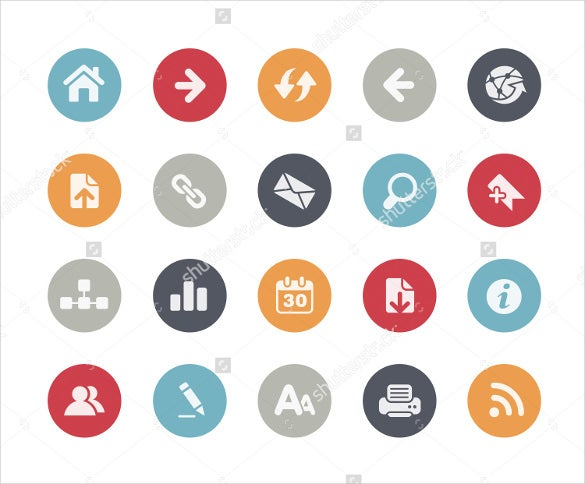 classic series web icons download
