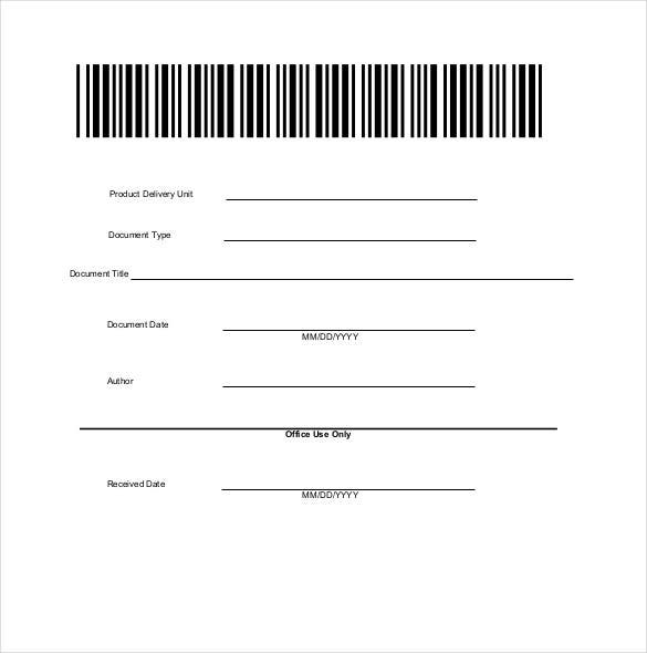 document blank cover sheet download1