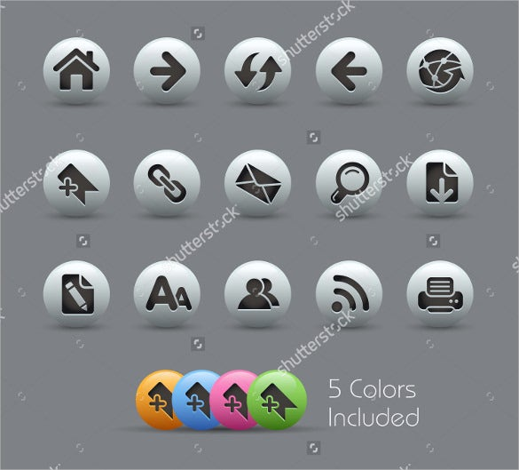 navigating web icons download