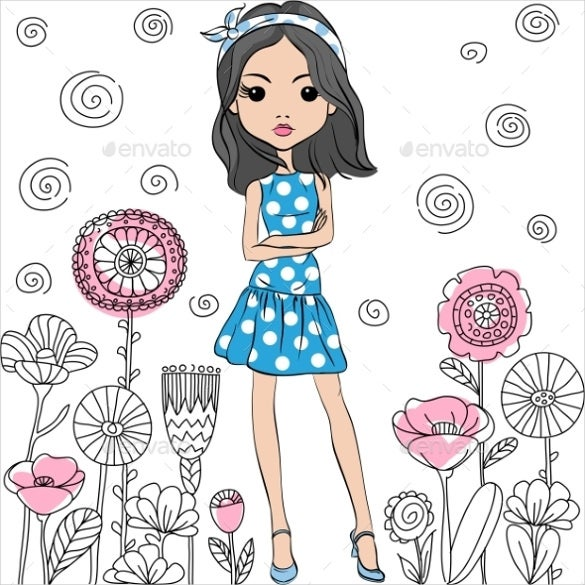 blue summer skirt pattren download