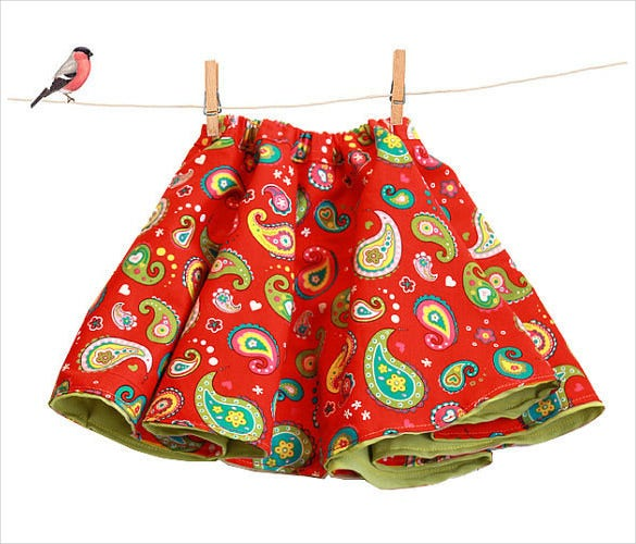 girls reversible skirt pattern download