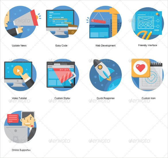 different web icons bundle download