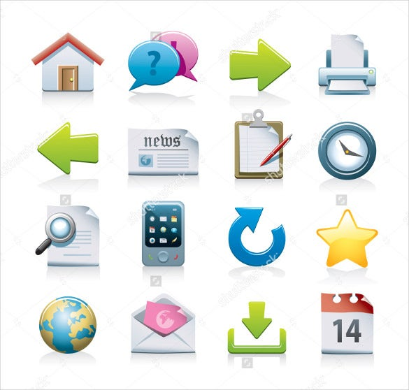 modern web icons download
