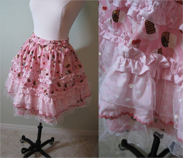 cupcake skirt pattern free download