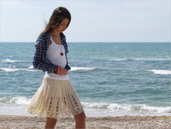crochet skirt pattern download