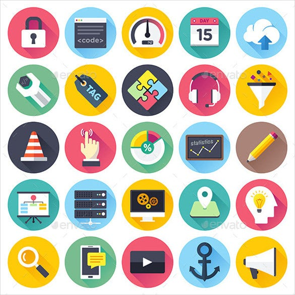 web development web icons bundle