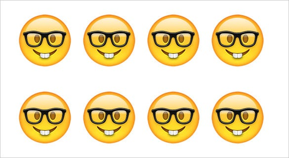 download nerd face emoji for iphone