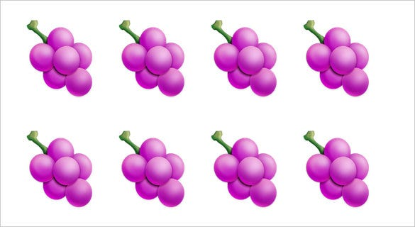 grapes emoji free for iphone download