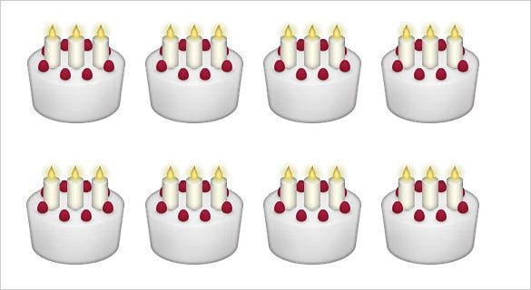 cake with candles emoji for iphone download