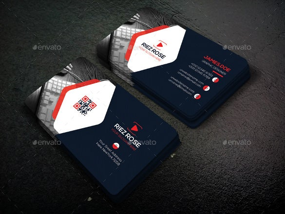 corporate business card design download