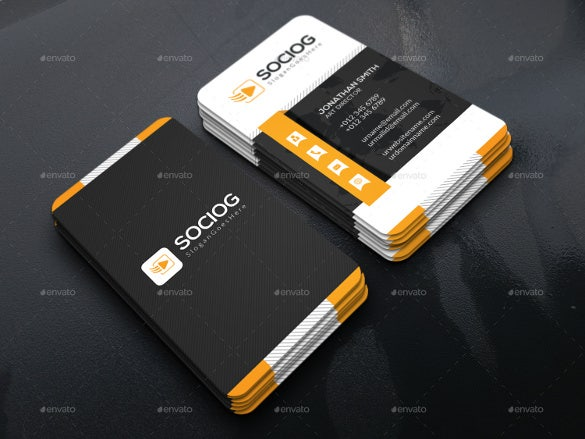 business card design 35 free psd ai vector eps format